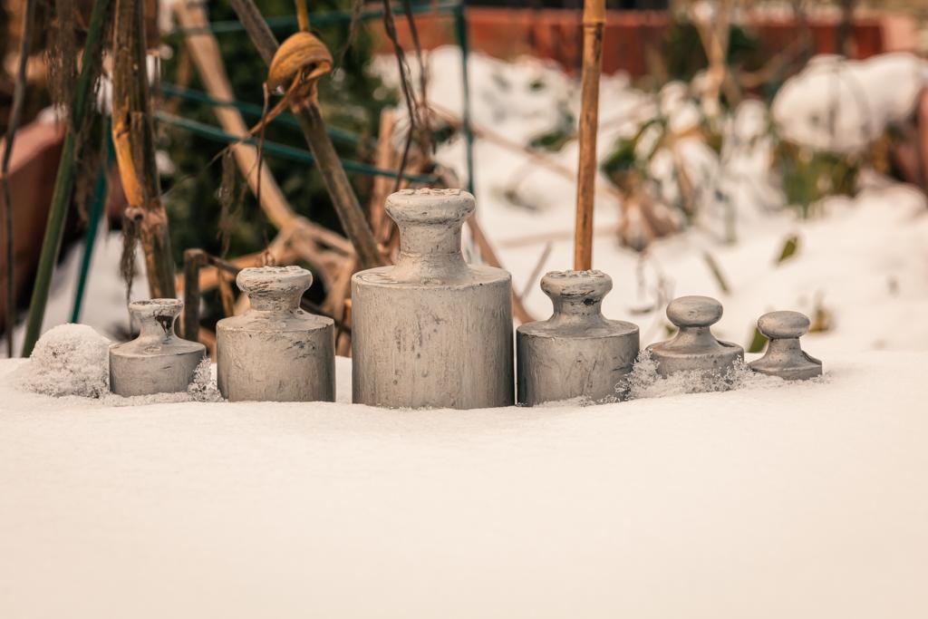 Der erste Schnee im Jahr